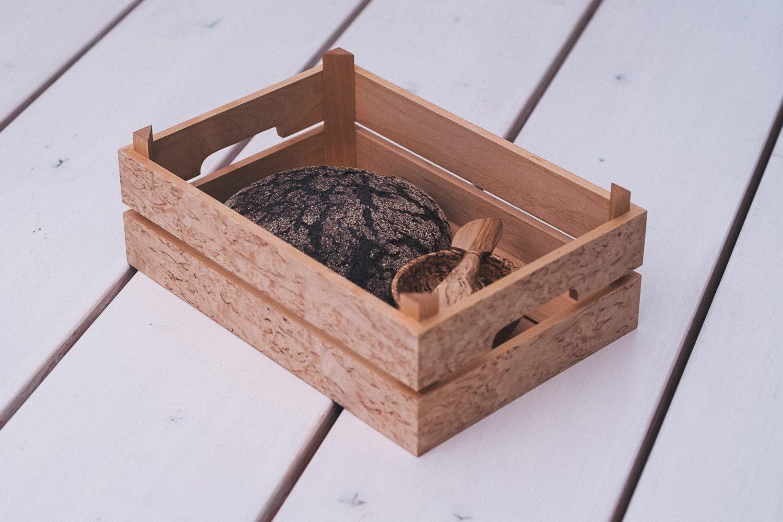 Vanhan ajan hedelmälaatikko on monikäyttöinen tuote.