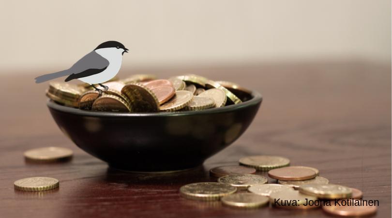 Selvitä muistiinpanoilla tulot ja menot
